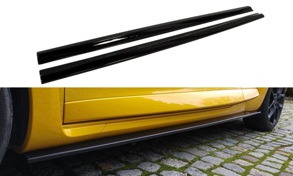 Dokładki Progów Renault Megane III RS - GRUBYGARAGE - Sklep Tuningowy